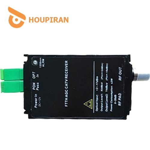 AGC-FTTH-CATV-Optical-Receiver-17db