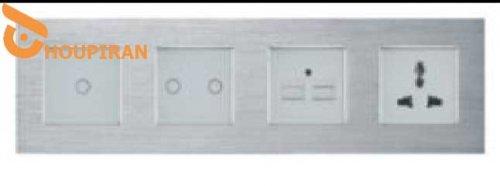 1gang1way remote RF433+2g1w dimmer+2a usb+MF socket