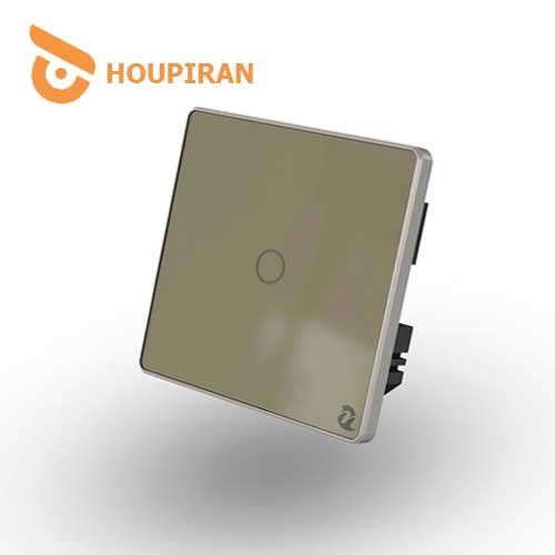 1-Gang-Wireless-Touch-Switch-(Golden)