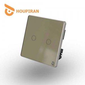 2-Gang-Wireless-Touch-Switch-(Golden)