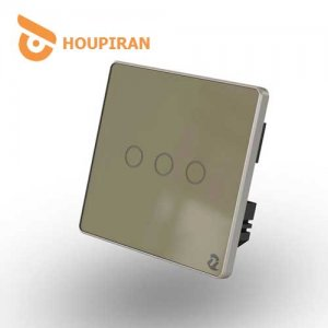 3-Gang-Wireless-Touch-Switch-(Golden)